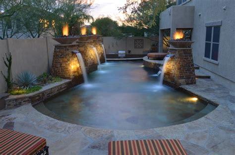 diy pool fountain ideas pool design ideas 27 pool landscaping ideas create the perfect backyard