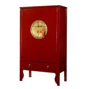 roter kleiderschrank lacquer style wardrobe wedding cabinet 4