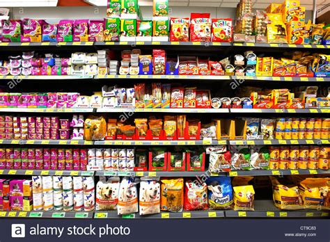 Shelf Supermarket by Self Service Supermarket Shelf Rack With Different Products Stock Photo Royalty Free Image