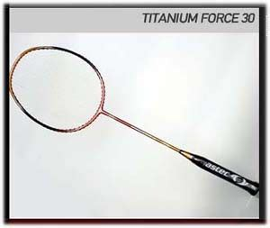 astec racket quot titanium quot series all player