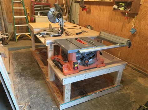 Table Saw Workbench Remodelaholic 20 Tablesaw Top Tools