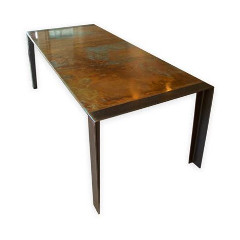 copper top tables copper top table zinc table dining table andrew