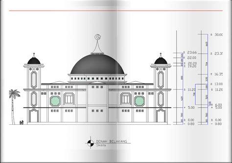design masjid minimalis gambar design masjid besar 2d rancangan rumah dan tata ruang