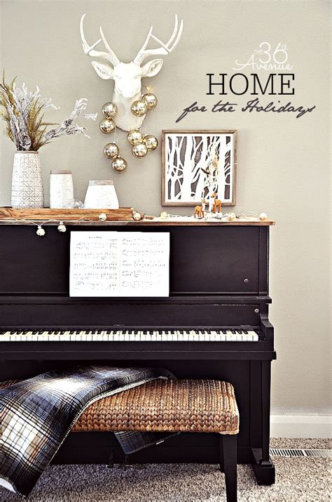 how to decorate your home for the 36th avenue decor piano area the 36th
