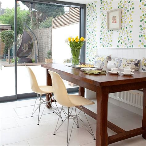green kitchen wallpaper ideas modern kitchen with green wallpaper decorating