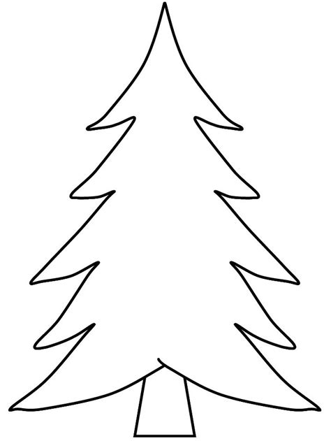 christmas tree drawing template svoboda2 com