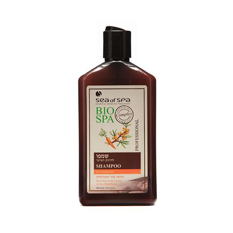 Shoo Bio Hair shoo for strong hair enriched with carrot sea