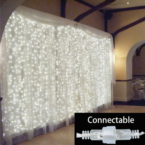 outdoor connectable led string lights fairy