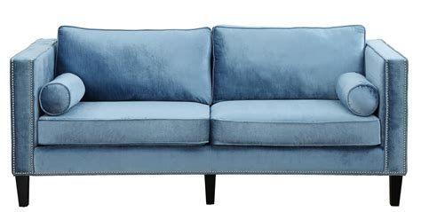blue velvet sofa sale cooper blue velvet sofa from tov tov s18 coleman furniture