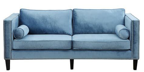 blue velvet sofa sale cooper blue velvet sofa from tov tov s18 coleman furniture