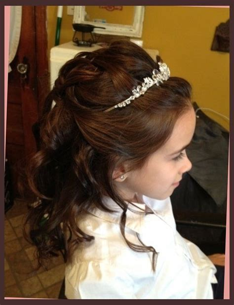cute hairstyles for first communion first communion hairstyles on pinterest first communion