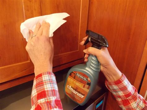 cleaning kitchen cabinets with vinegar wood laminate cabinets cleanliness tips for gleaming
