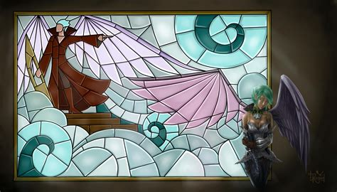 Stained Glass L Base by L2 Stained Glass Window By Belaitea On Deviantart