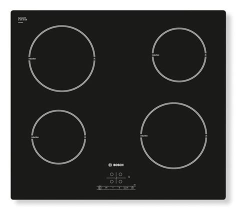 induction hob currys buy bosch pia611b68b electric induction hob black free delivery currys