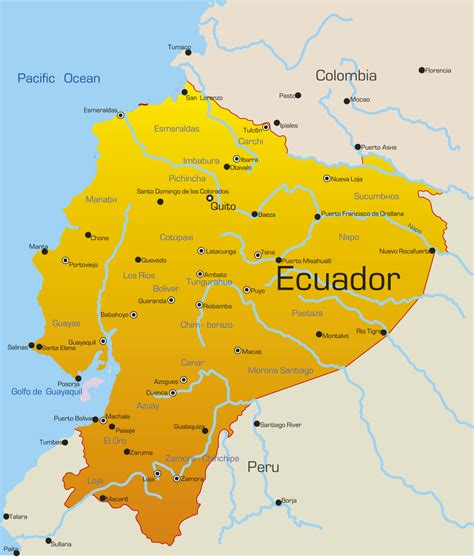 ecuador on map ecuador on the map images diagram writing sle ideas