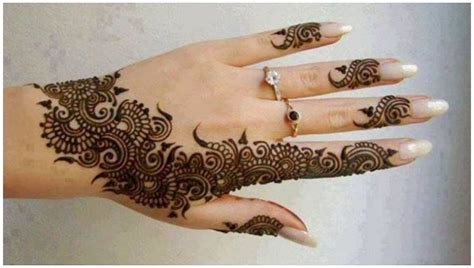 beautiful henna tattoo mehndi design pictures 2018