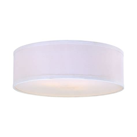 White Barrel L Shade by White Linen Drum L Shade Sh7492dif Destination Lighting