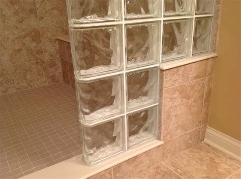 how high should a shower bench be 7 useful tips for building a step down glass block shower wall