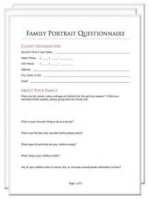 wedding photography questionnaire