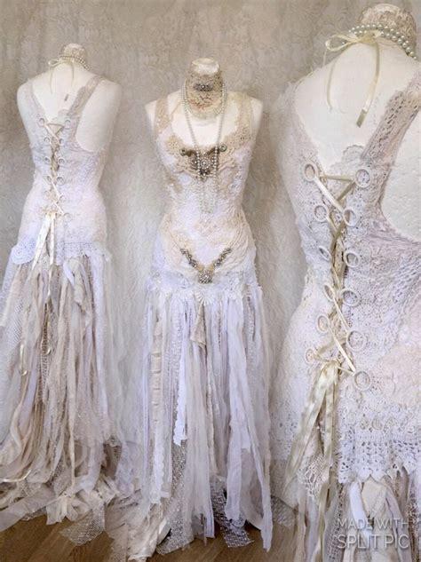 Best 25  Tattered wedding dress ideas on Pinterest