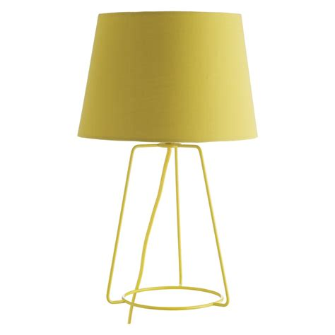 Yellow Table L Shades by Lula Yellow Metal Table L With Fabric Shade Buy Now