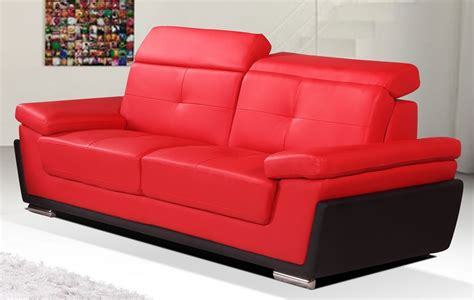 red and black leather couches 100 red and black leather sofa regent 3 seater
