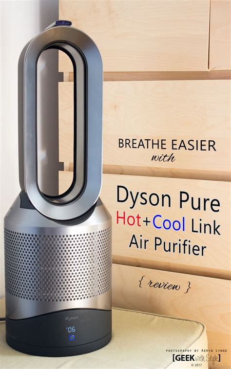 dyson pure cool air purifier fan breathe easier with dyson pure cool link air purifier