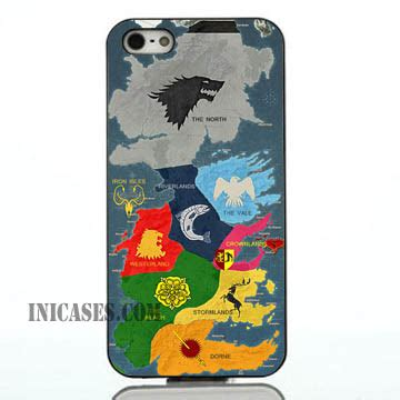 Ank Map For Iphone Cases Ipod Htc Sony Xperia Samsung Cases of thrones region map iphone samsung inicases