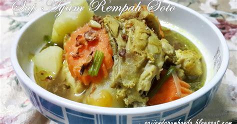 membuat kaldu ayam beku sup ayam rempah soto tips resep cara membuat