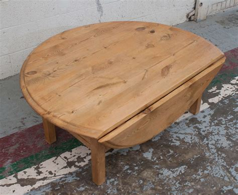 Pine Drop Leaf Table Pine Drop Leaf Coffee Table At 1stdibs