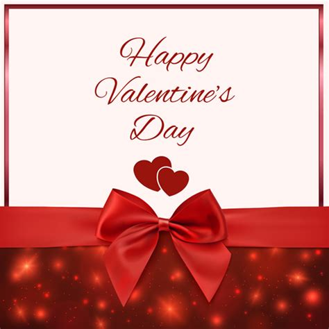 Romantic Gift Cards - romantic valentine gift cards 01 vectors vector card free download