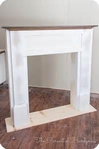 diy faux fireplace 27 kels place