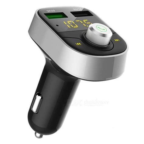 Hy82s Car Fm Transmitter Bluetooth Mp3 Player Car Bluet Diskon kelima hy82s dual usb car charger fm transmitter mp3