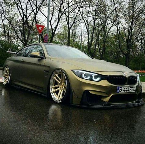 bmw m4 slammed bmw z performance f82 m4 matte green slammed luxury cars