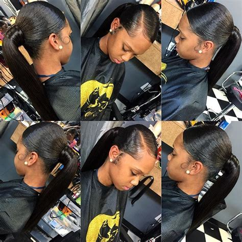 slick back weave hair stylea 25 best ideas about weave ponytail on pinterest weave