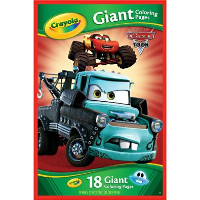 crayola giant coloring pages cars 2 kroger 2 17 crayola giant coloring pages bargains to