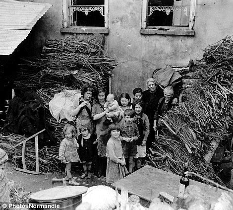 after d day astonishing archive of pictures shows the horror devastation and