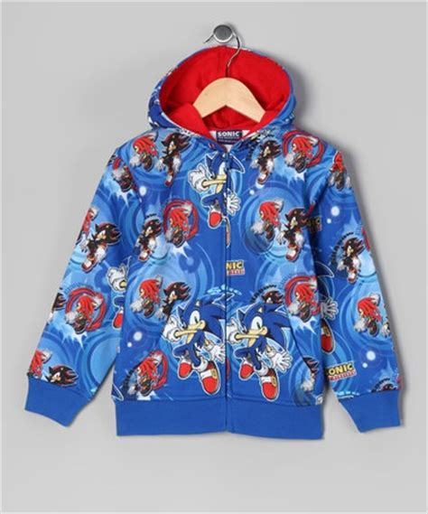 Hoodie Sonic The Hedgehog sonic the hedgehog blue sonic the hedgehog zip up hoodie boys the o jays and hoodies
