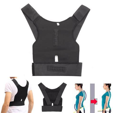 back seat posture corrector adjustable back support posture corrector belt shoulder