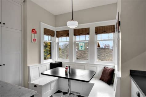 white breakfast nook 13 cozy comfortable and delightful breakfast nooks for the kitchen