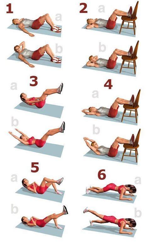 ejercicios para abdomen en casa entrenamiento de abdominales en casa abdominales info