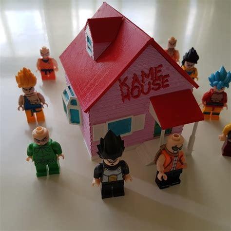 dragon house delaware kame house de dragon ball impreso en 3d cults