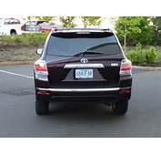 2011 Toyota Highlander Hybrid  Driven May