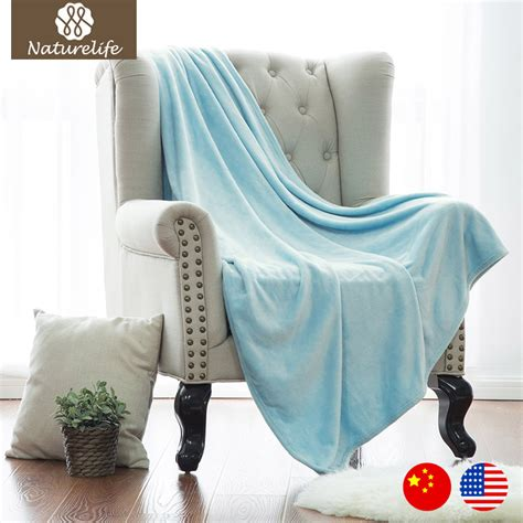 light blue throw blanket naturelife flannel light blue blanket throw on bed sofa