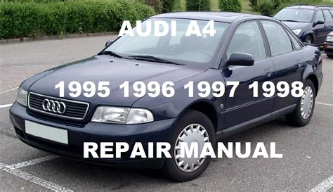 Service Audi A4 by Audi A4 Service Manual 1995 Upcomingcarshq