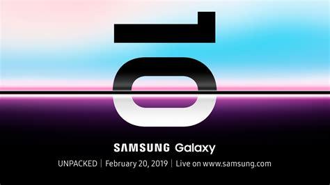 samsung  announce galaxy   feb  news opinion pcmagcom