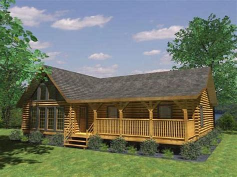 aztec log home plan by honest abe log homes inc