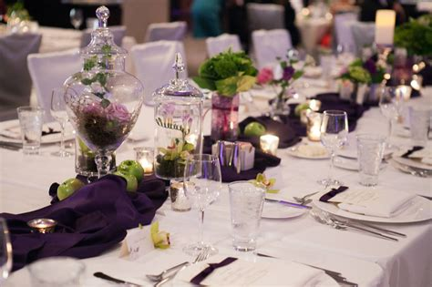 Classic Creations Real Wedding Jill Paul Westin Vintage Table Centerpieces
