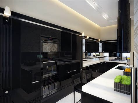white and black kitchen cabinets why black kitchen cabinets are popular midcityeast