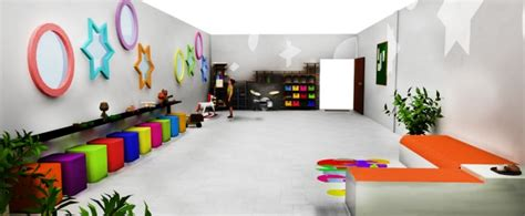 Room For Activities by Space Design Club House For Differently Abled By